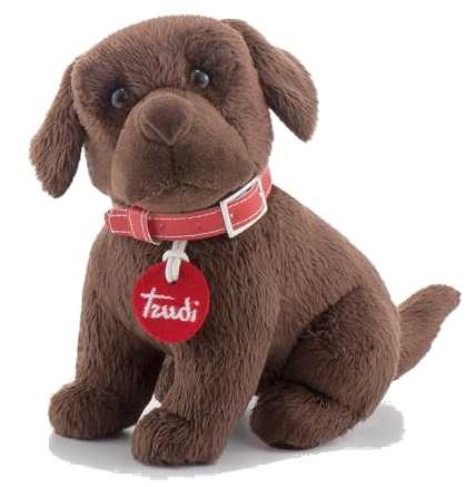 Trudi Knuffel Hond Labrador Bruin 20 Cm