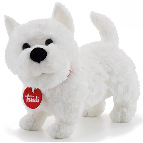 Trudi Knuffel Hond West Higland Terrier Wit 20 Cm
