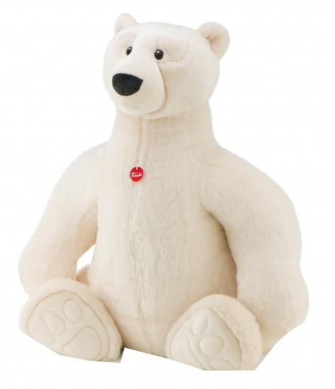 Trudi Knuffel ijsbeer 115 cm wit