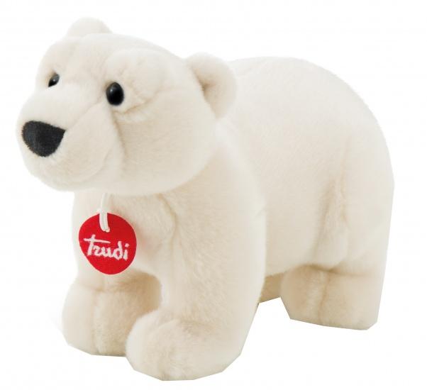 Trudi Knuffel ijsbeer 28 cm wit