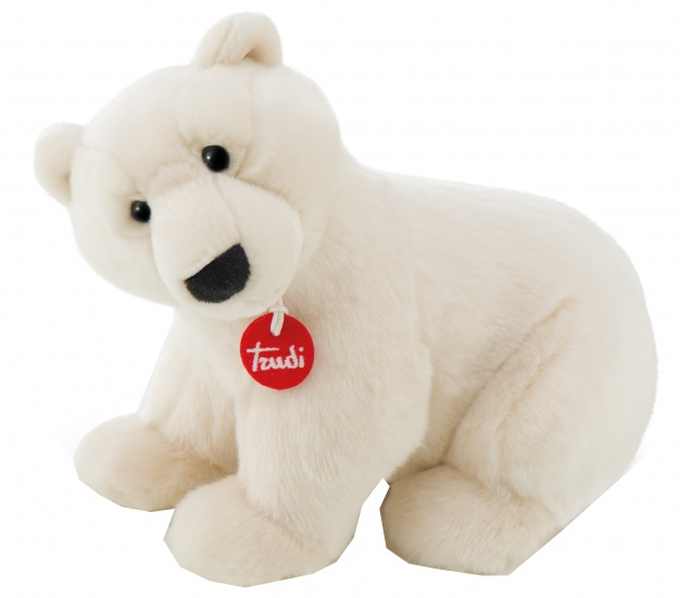 Trudi Knuffel ijsbeer 36 cm wit