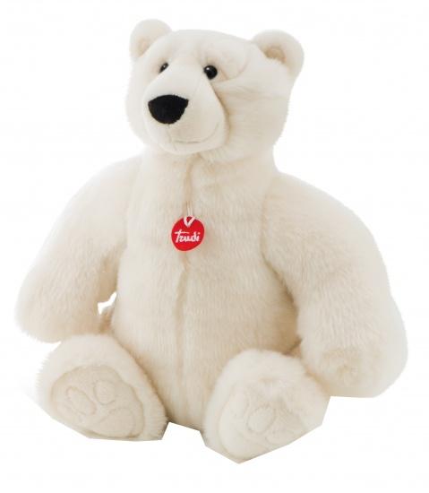 Trudi Knuffel ijsbeer 45 cm wit