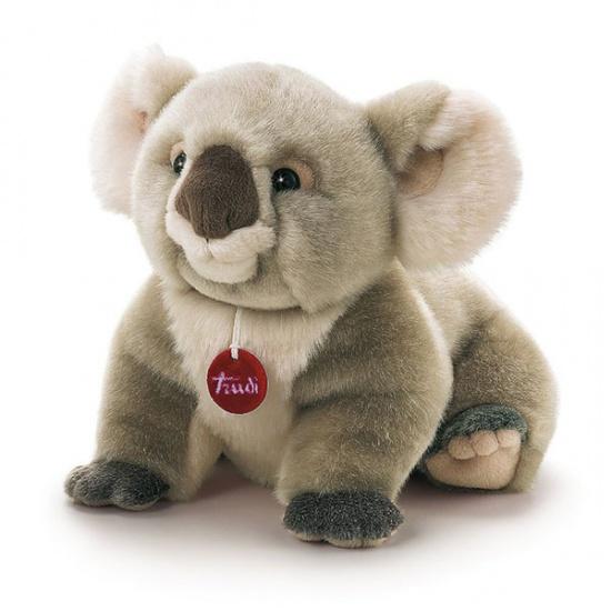 Trudi Knuffel Koala Jamin 36 cm Grijs
