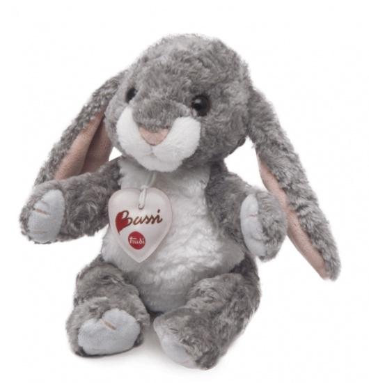 Trudi Knuffel konijn 20 cm grijs