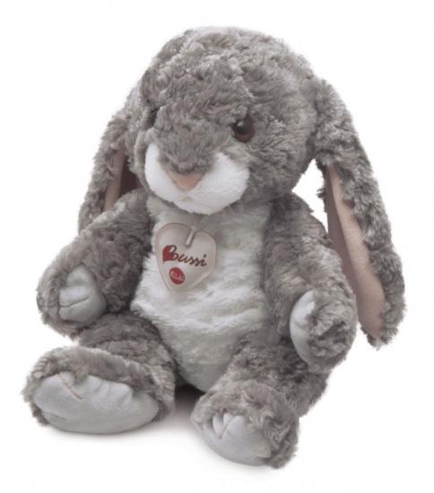 Trudi Knuffel konijn 30 cm grijs