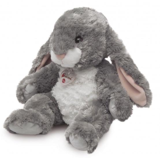 Trudi Knuffel konijn 38 cm grijs