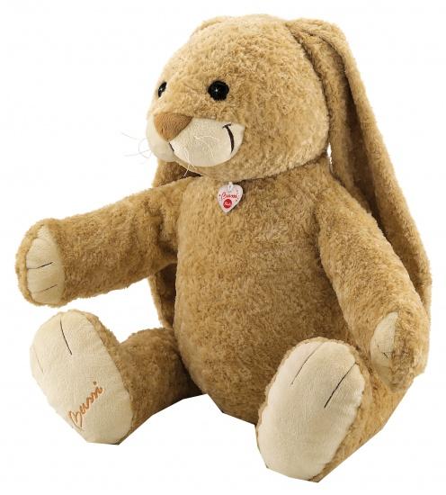 Trudi Knuffel konijn 80 cm bruin/ beige