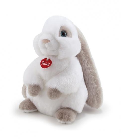 Trudi knuffelkonijn Clemente 27 cm wit