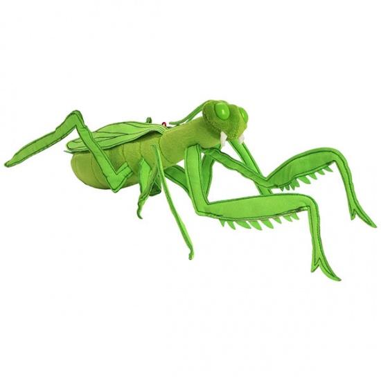 Trudi Knuffel sprinkhaan 37 cm Groen