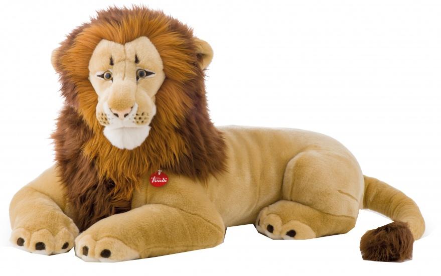 Trudi Knuffel Leeuw Napoleon 100 cm geel/ bruin