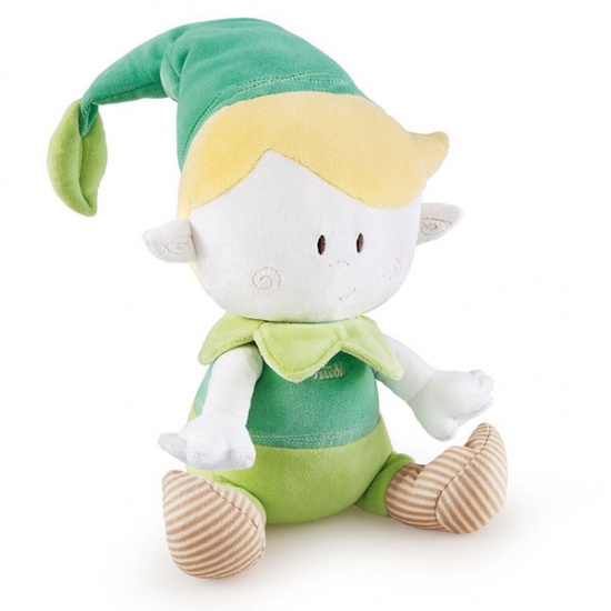 Trudi Knuffel Natuur Elf 26 cm Groen