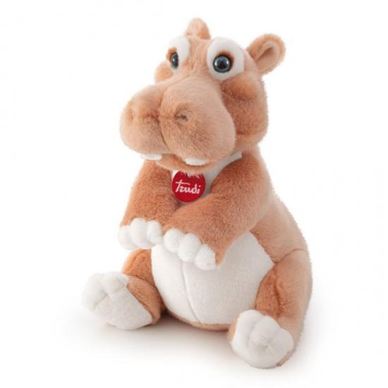 Trudi Knuffel Nijlpaard Pamela 30 cm bruin