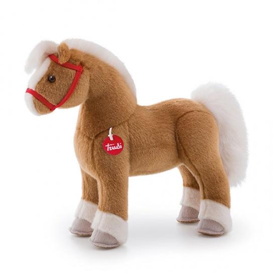 Trudi Knuffel Paard Dustin 32 cm bruin