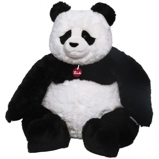 Trudi knuffel panda Kevin zwart/wit 115 cm