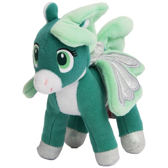 Trudi Knuffel Pegasus 14 cm Groen
