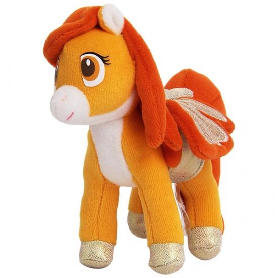 Trudi Knuffel Pegasus 14 cm Oranje