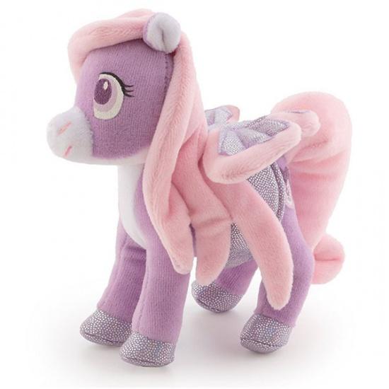 Trudi Knuffel Pegasus 14 cm Paars