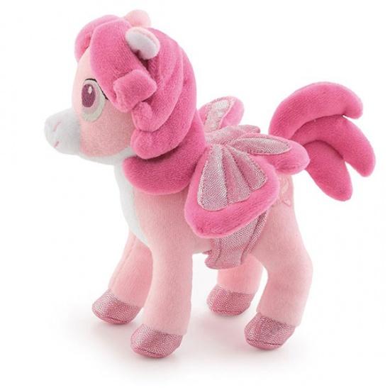 Trudi Knuffel Pegasus 14 cm Roze