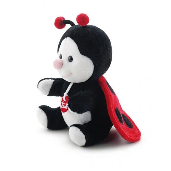 Trudi Knuffel Soft Lieveheersbeestje 15 cm Zwart