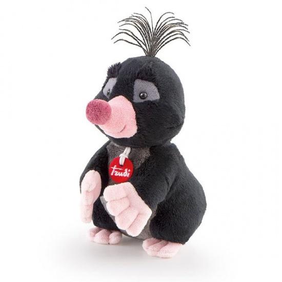 Trudi Knuffel Soft Mol 15 cm Zwart