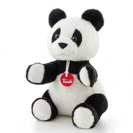 Trudi Knuffel Soft Panda 15 cm Zwart/Wit