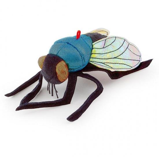Trudi Knuffel Vlieg 15 cm Blauw