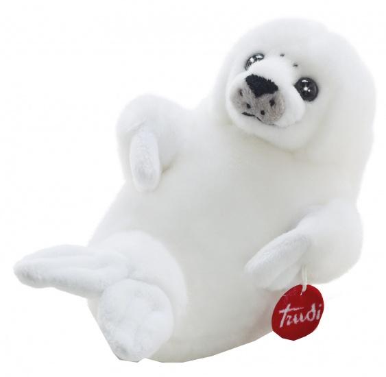 Trudi Knuffel zeehond 28 cm wit