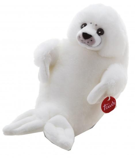 Trudi Knuffel zeehond 46 cm wit