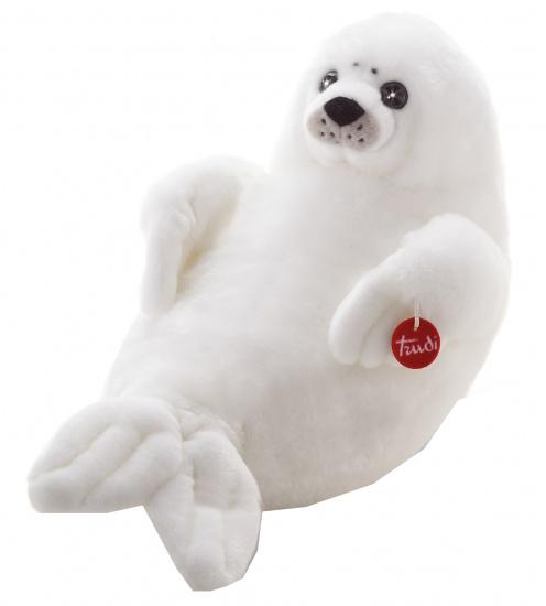 Trudi Knuffel zeehond 58 cm wit