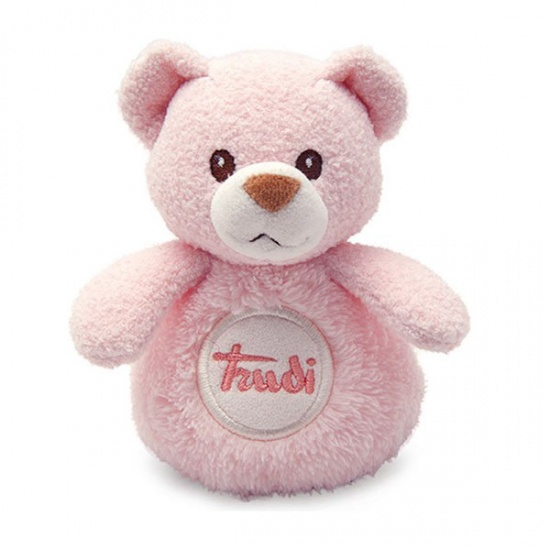 Trudi Knuffelbeer Cremino 12 cm Roze Piep