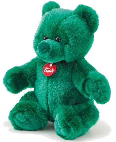 Trudi knuffelbeer pluche 38 cm groen