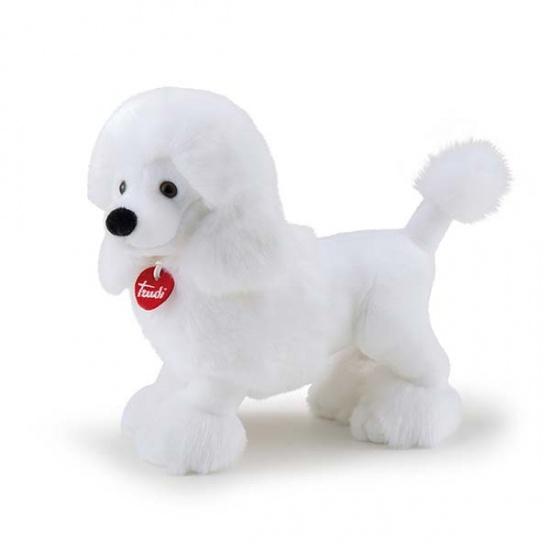 Trudi Knuffel Hond Poedel Amelie Wit 34 cm