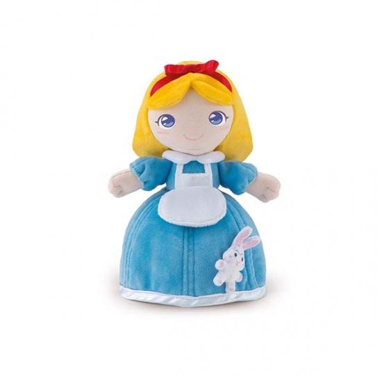 Trudi Knuffelpop Alyssa Blauw 24 cm
