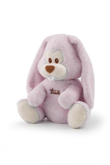 Trudi magnetronknuffel Virgillio konijn 28 cm roze