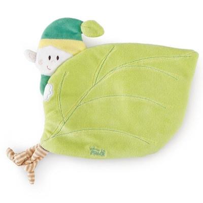 Trudi Opwarm knuffel Elf 25 cm Groen
