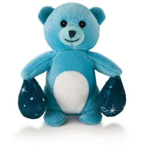 Trudi Sterrenbeeld Weegschaal 9 cm blauw