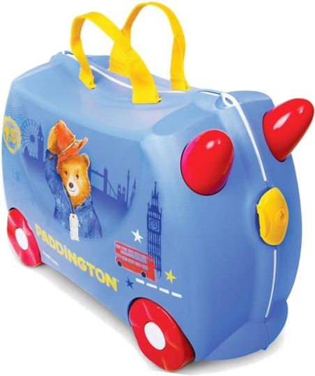 Trunki ride on koffer Beertje Paddington blauw 18 liter