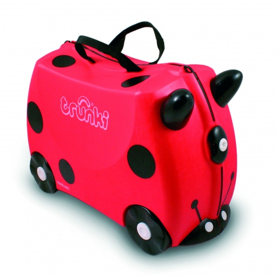 Trunki Ride On Koffer Harley Lieveheersbeestje