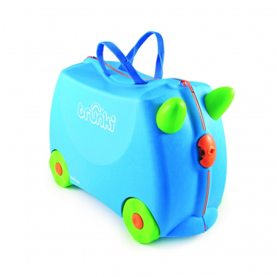Trunki Ride On Koffer Terrance Blauw