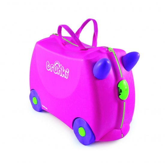 Trunki Ride On Koffer Trixie Roze