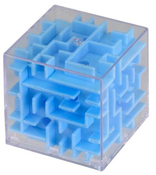 Tutti Frutti mini doolhof blauw 4 x 4 x 4 cm