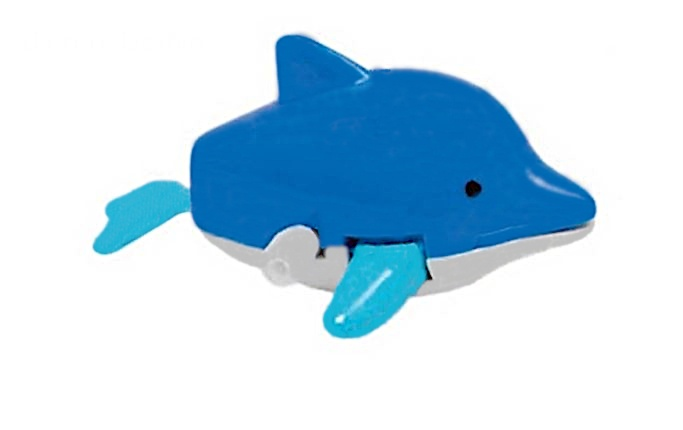 Tutti Frutti Opwindfiguur Zeedieren: Dolfijn 6,5 cm