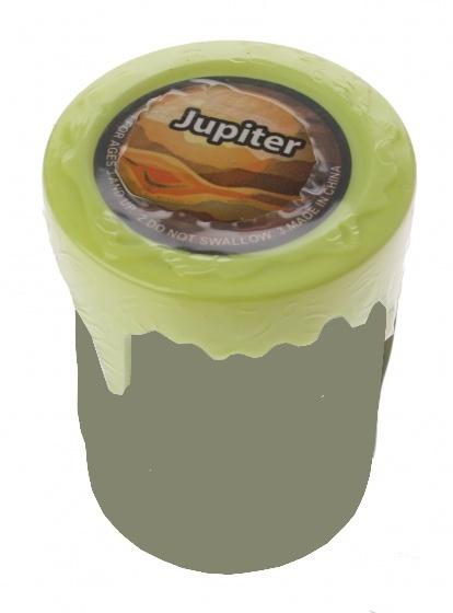 Tutti Frutti Solar Slijm Jupiter 5 x 6 cm groen