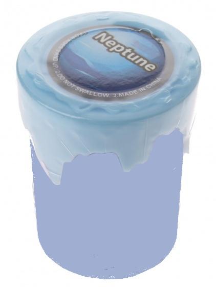 Tutti Frutti Solar Slijm Neptune 5 x 6 cm blauw