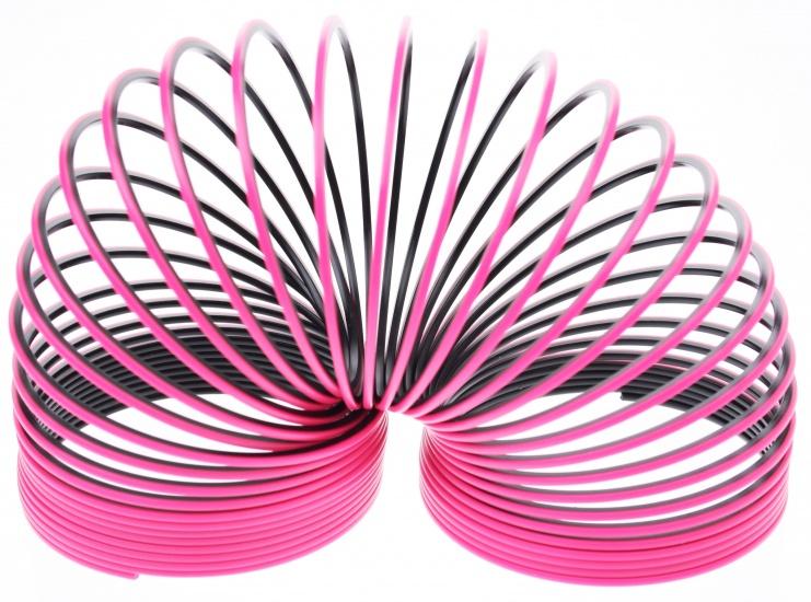 Tutti Frutti Trapveer BI Color 6,5 X 7,2 cm Roze Zwart