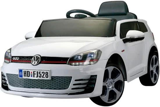volkswagen golf vii gti battery 12v car white internet toys. Black Bedroom Furniture Sets. Home Design Ideas