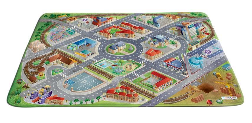 House of Kids verkeerskleed District 130 x 180 cm