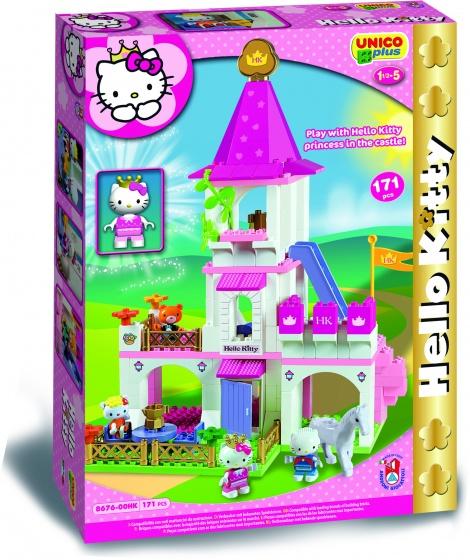 Unico Hello Kitty prinses kasteel XL 171 delig