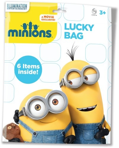 Universal Lucky Bag Minions 6 items