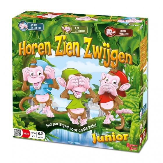 University Games Horen Zien Zwijgen junior